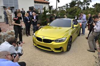 The BMW Concept M4 Coupe (08/2013).