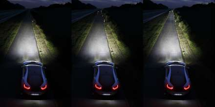 BMW i8, Laserlight, Low Beam, High Beam, Laser High Beam (09/2013)