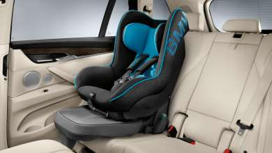 BMW Junior Seat 1 with ISOFIX Base (rearward facing position possible) (08/2013)