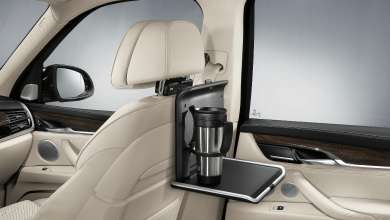 BMW Travel & Comfort System Folding Table (08/2013)