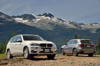 The new BMW X5, Whistler Olympic Park 2013 (08/2013)