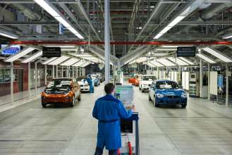 BMW i3 Production Plant Leipzig: Finish (09/13)
