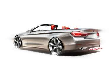 The new BMW 4 Series Convertible (10/2013).