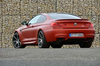 The BMW M6 in Frozen Red (09/2013)