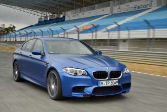 The BMW M5 in Frozen Blue (09/2013)