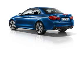 The new BMW 4 Series Convertible - M Sport package (10/2013).