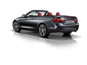 The new BMW 4 Series Convertible - Sport Line (10/2013).