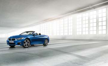 The new BMW 4 Series Convertible - M Sport package(10/2013).