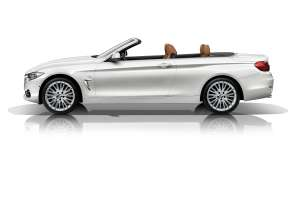 The new BMW 4 Series Convertible - Luxury Line (10/2013).
