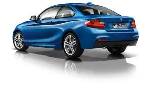The new BMW 2 Series Coupe with M Sport Package (10/2013)