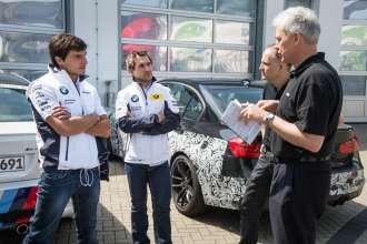 Test drives at Nuerburgring Nordschleife Spengler_Glock_Wimbeck_Biermann. © BMW AG 09/2013