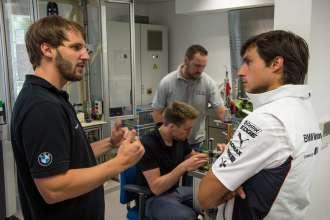 Test drives at Nuerburgring Nordschleife Workshop_Spengler. © BMW AG 09/2013