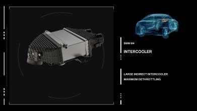 The new BMW M3/M4 Engine intercooler. (09/2013)