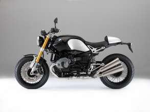 BMW R nineT, Aluminium tail-hump cover, LED turn indicators (10/2013)