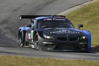 03.10.2013 to 05.10.2013, American Le Mans Series 2013,  Round 9, Virginia International Raceway, Danville, VA (USA). Oak Tree Grand Prix at VIR. Bill Auberlen (USA), Maxime Martin (BEL), No 55, BMW Team RLL, BMW Z4 GTE. This image is Copyright free for editorial use © BMW AG