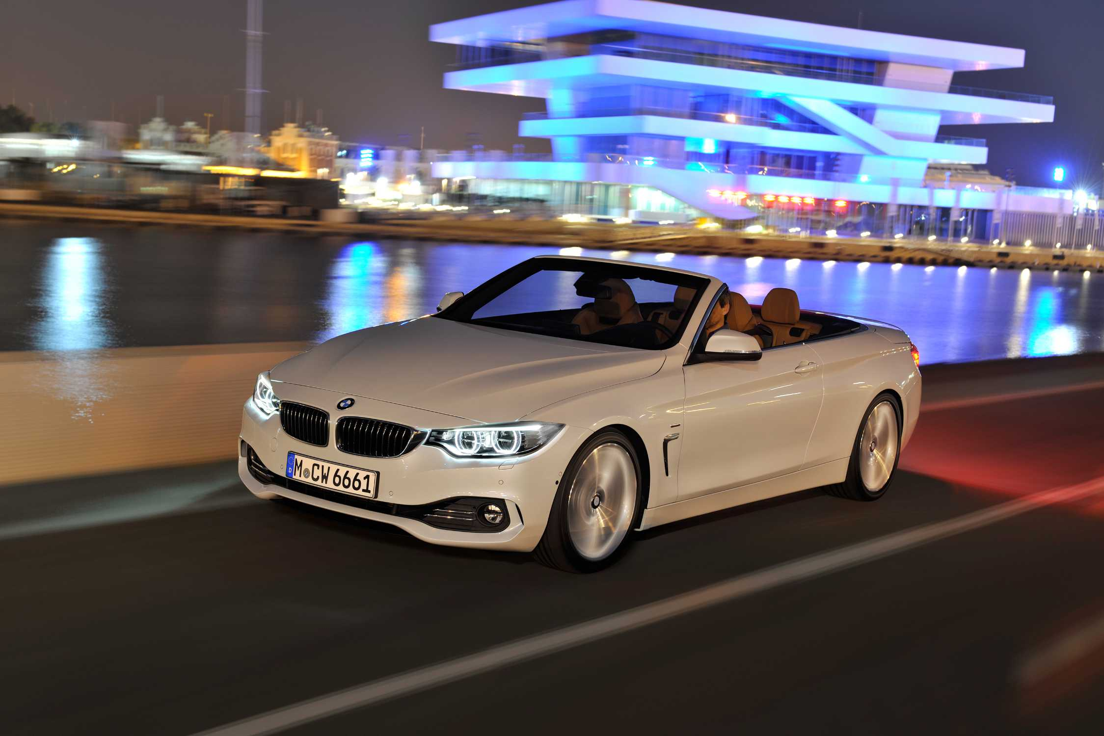 The New BMW Series Convertible - 2013 bmw 4 series convertible