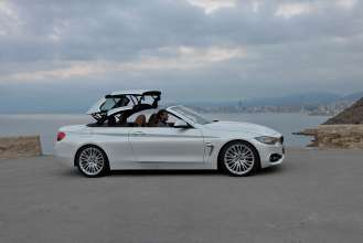 The new BMW 4 Series Convertible (Luxury Line) (10/2013).