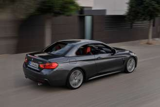 The new BMW 4 Series Convertible (M Sport package) (10/2013).