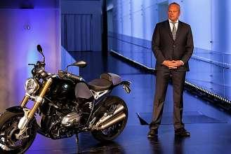 Celebrating 90 years of BMW Motorrad. Stephan Schaller, President BMW Motorrad. (10/2013)