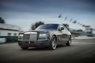 ROLLS-ROYCE PHANTOM COUPÉ BESPOKE CHICANE CAR