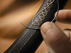 BMW Individual Manufaktur - Decorative stitching. © BMW AG (10/2013)