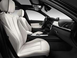 BMW Individual 5 Series Gran Turismo (F07 LCI) - 535d - Interior, BMW Individual Merino leather Platinum. (10/2013)