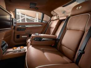 BMW Individual 760Li Sterling inspired by ROBBE&BERKING, Interior. (10/2013).