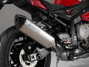 BMW S 1000 R with HP Titanium exhaust system (11/2013)