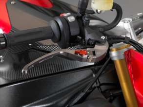 BMW S 1000 R with HP brake lever, hinged (11/2013)