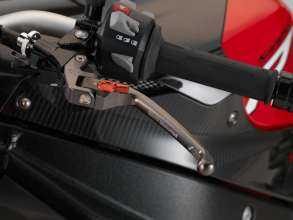 BMW S 1000 R with HP clutch lever, hinged (11/2013)
