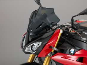 BMW S 1000 R with sport windscreen (11/2013)
