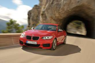 The new BMW M235i Coupe (10/2013)