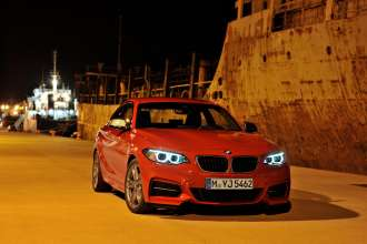 The new BMW M235i Coupe (10/2013