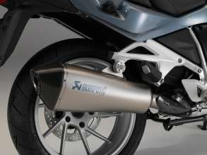 BMW R 1200 RT with sports silencer Akrapović(11/2013)