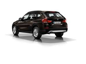 BMW X1- sDrive18i - Sparkling Brown metallic - Light-alloy wheels V-spoke 621.(12/2013)