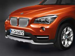 BMW X1- xDrive25d - Valencia Orange metallic - Light-alloy wheels Y-spoke 322 - xLine.(12/2013)
