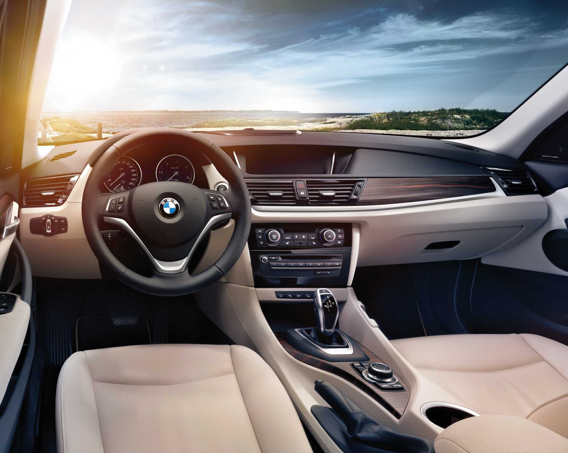 Bmw X1 Xdrive25d Interior Nevada Leather Oyster With
