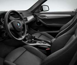 BMW X1- sDrive20d - Interior, Nevada leather Black - Interior trim, Dark Brushed Aluminium - M Sport package.(12/2013)