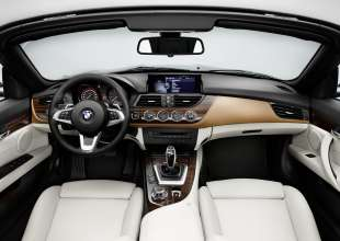 The new BMW Z4 with Design Pure Fusion (11/2013).