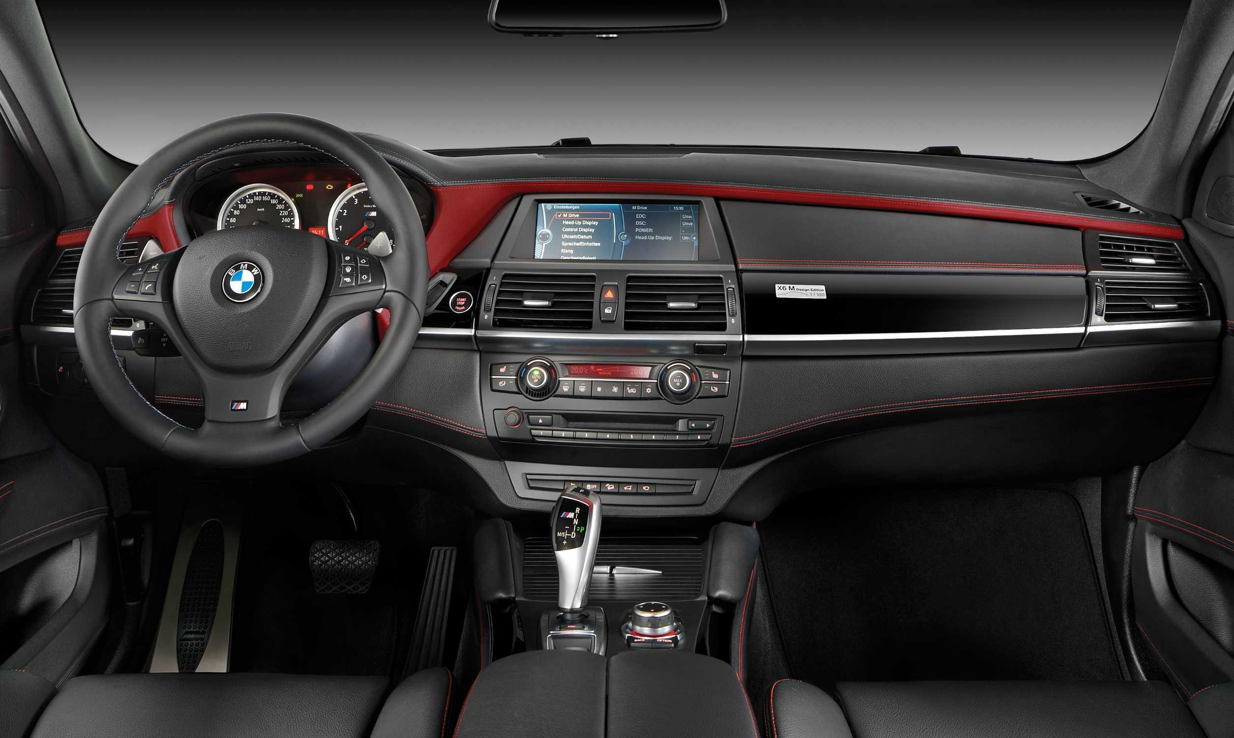 Bmw X6 M Interior Bmw Individual Full Merino Leather Black