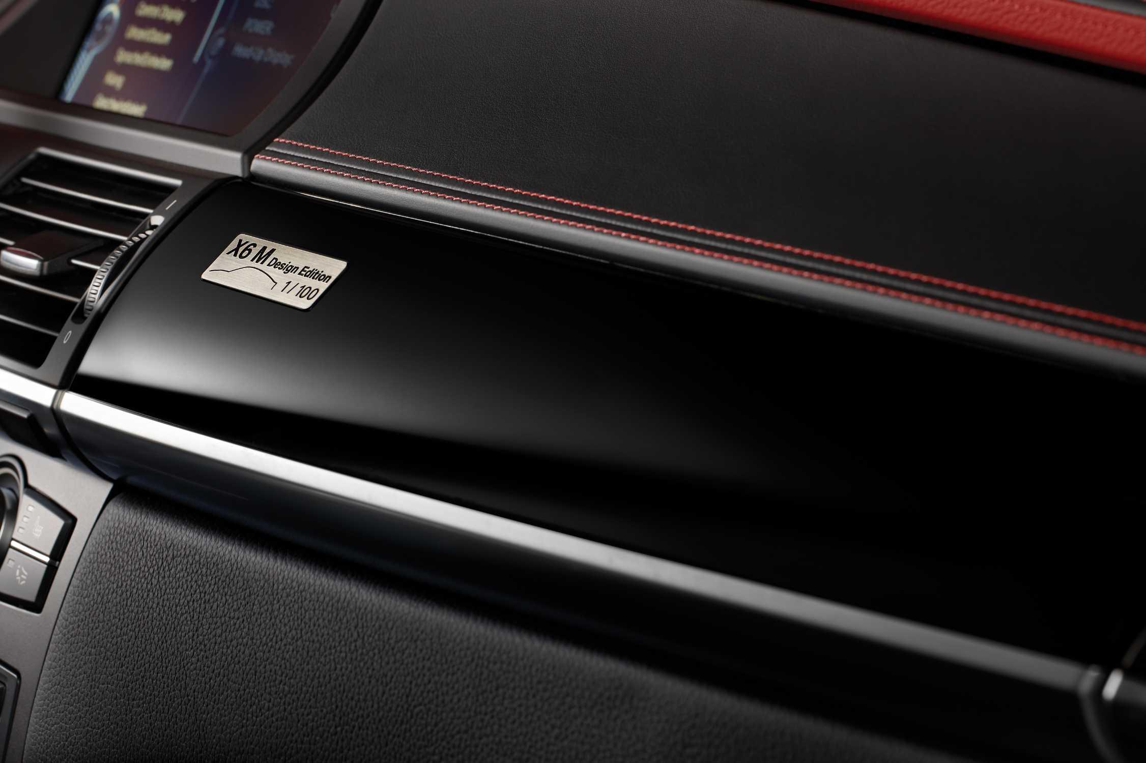 BMW X6 M - Interior