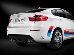 BMW X6 M Design Edition 2013 - Alpine White metallic - M light-alloy-wheels double spoke. (11/2013) © BMW GROUP