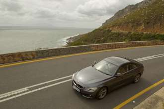 The new BMW 4 Series Coupe now available in South Africa. (11/2013)