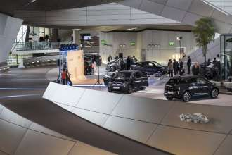 Distribution of the first BMW i3 customer vehicles in the BMW Welt in Munich, Germany. (11/2013)