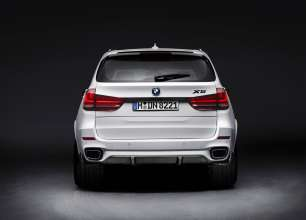The new BMW X5 with M Performance Parts (11/2013).