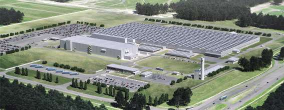 3D Rendering of the future BMW Group plant in Araquari, Brazil (state of Santa Catarina)