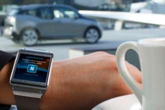 BMW i Remote App für Samsung Galaxy Gear - ClimatizeNow (01/2014)