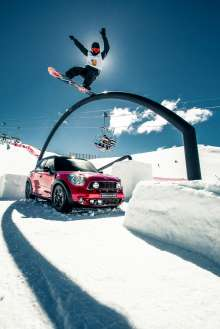 MINI at Burton European Open. (12/2013)