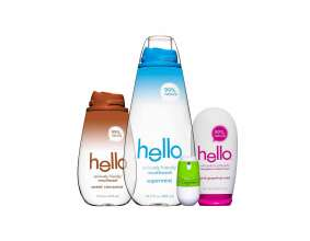 Hello® oral care line designed by BMW Group DesignworksUSA (01/2014)