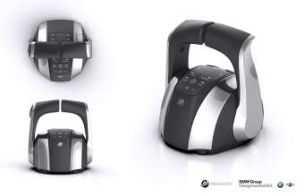 Mercury Marine Electronic Remote Control designed by BMW Group DesignworksUSA (01/2014)